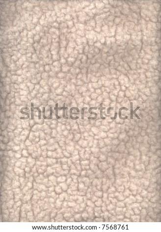 A flat wool fleece texture. - stock photo