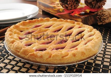 Cherry-pie Stock Photos, Illustrations, and Vector Art