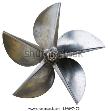 how to draw propellers from a side view