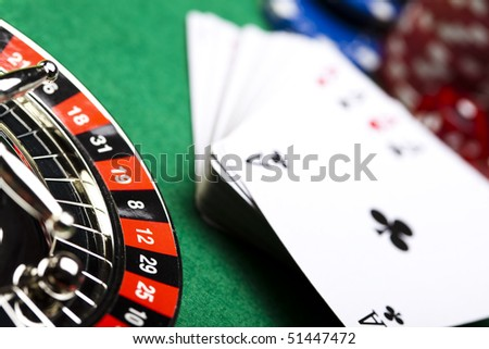 A game of cards - stock photo