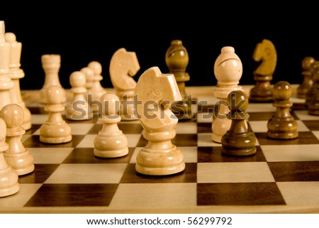how to set up players on a chessboard