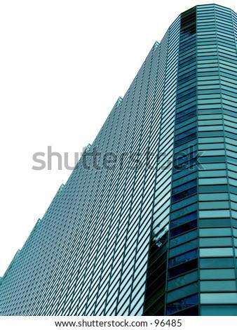 A generic Skyscraper - stock photo