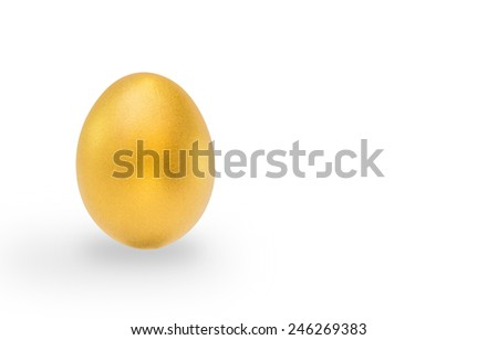 A golden egg opportunity mean a chance to make a fortune to be rich