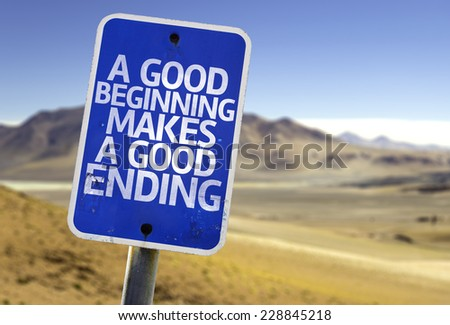 a good beginning makes a good ending essay An essay about myself: writing tips and tricks april 22, 2014 by april klazema a good place to start with any kind of essay is this paragraph and essay writing course on udemy ending the essay.