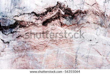 A granite or marble surface for decorative works - stock photo