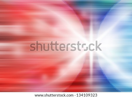a graphic of fantasy fusion power abstract background