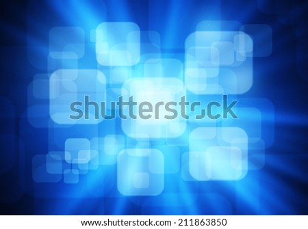a graphic of fantasy round rectangle ,abstract background - stock photo