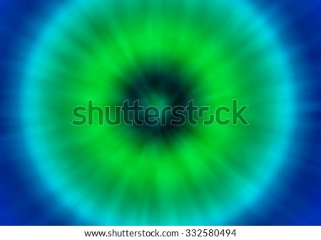a green and blue colorful psychedelic tie dye background with a retro look - stock photo