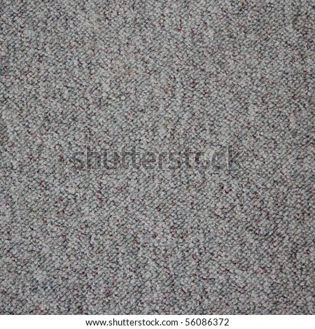 a grey carpet texture - stock photo