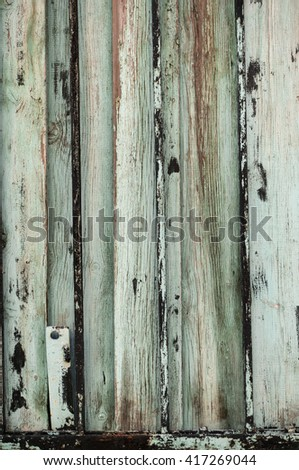 A grungy aged wooden wall background.