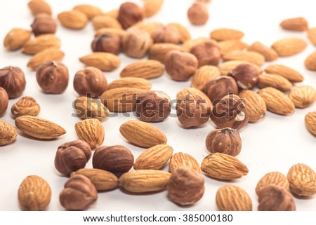 A handful of nuts