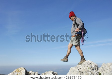 Middle Aged Hikers Stock Photos Royalty Free Images