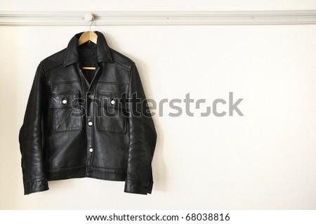 A hanged Jacket - stock photo