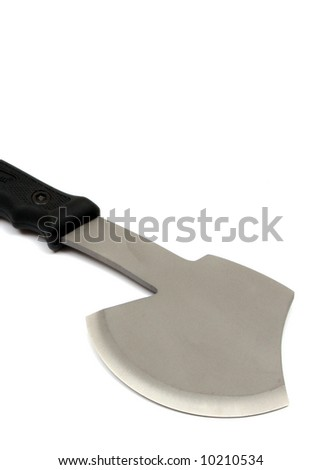 hatchet camp axe used cutting chopping stock photo image royalty