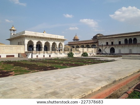a historic building in Agra in Uttar Pradesh, India