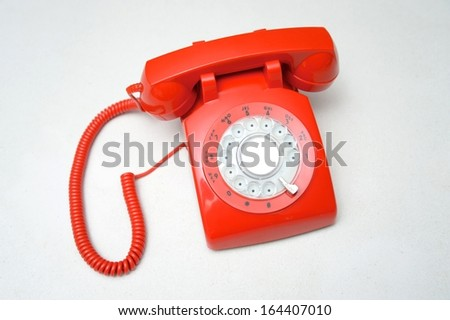 A home phone on a kitchen bench - stock photo