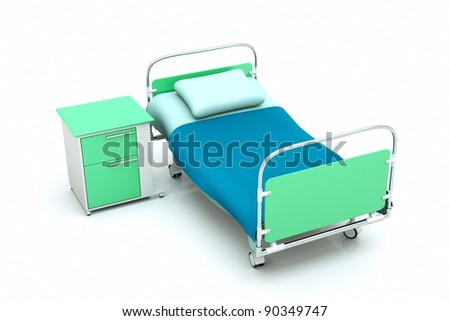 Empty Hospital Bed Stock Images, Royalty-Free Images ...