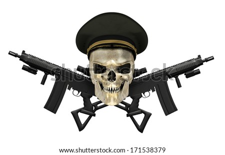 Macho Power Caps Funciona Mesmo? URGENTE VEJA ISTO stock-photo-a-human-skull-wearing-an-army-general-s-hat-with-crossed-rifles-d-render-171538379