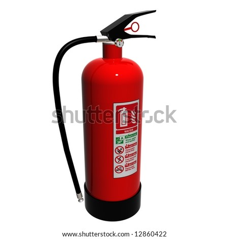 A Hydro Fire extinguisher