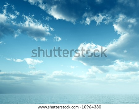 A image of a scenic seascape or lake background.
