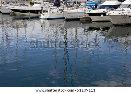 A landscape boating background