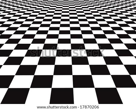 Checkered floor stock illustration 20667001 shutterstock for Black and white check floor