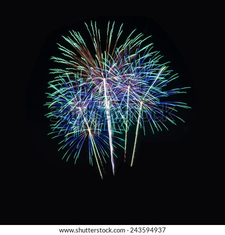 A large fireworks display for all types of celebrations!