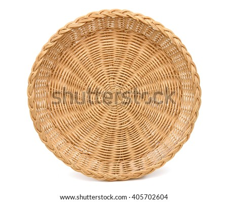 A lifetime bamboo basket - stock photo