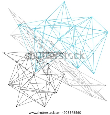 A linear geometric pattern background or design element