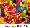 A lot of candies for background - stock