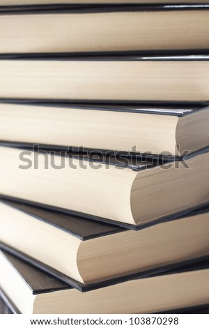 a lot of different books - stock photo