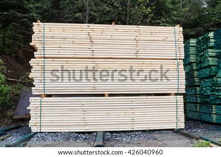 Decorative Wood Fence Detail Stock Photo 1421210