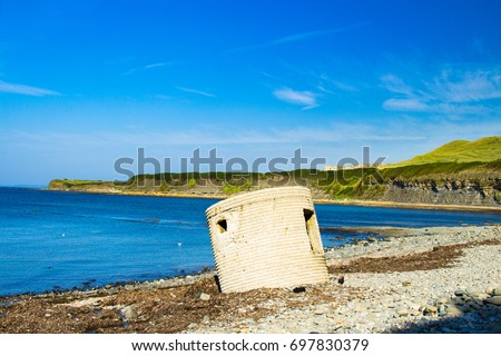 A lovely walk from Kimmeridge in Dorset south west England visiting Clavell tower and Kimmeridge bay