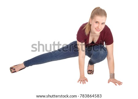 Crouching Stock Images Royalty Free Images Amp Vectors