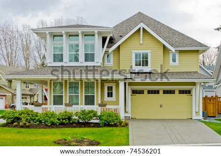 A Luxury House. - stock photo
