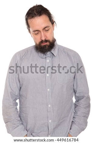 a man is sleeping standing up