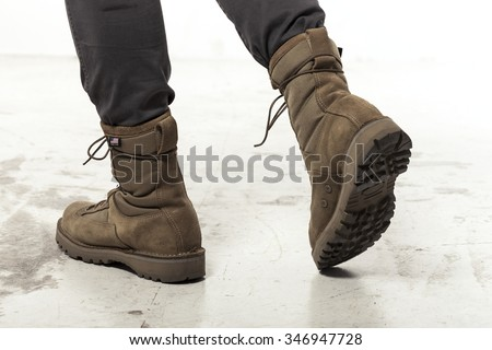 Combat Boots Stock Images, Royalty-Free Images & Vectors ...