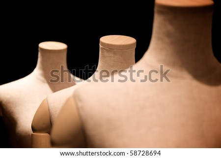 A mannequin - stock photo