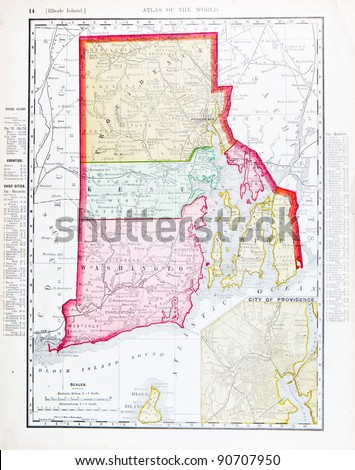 Rhode Island Map Stock Images RoyaltyFree Images Vectors - Rhode island on the us map