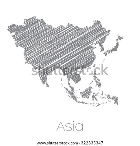 A Map of the Continent of Asia