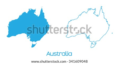 A Map of the country of _Australia