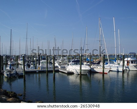 A marina in Hampton, VA