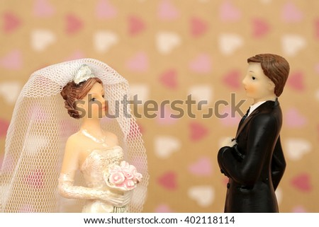 A married couple - stock photo