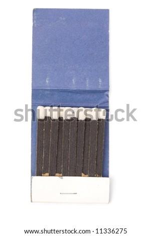 a matchbook close up shot - stock photo