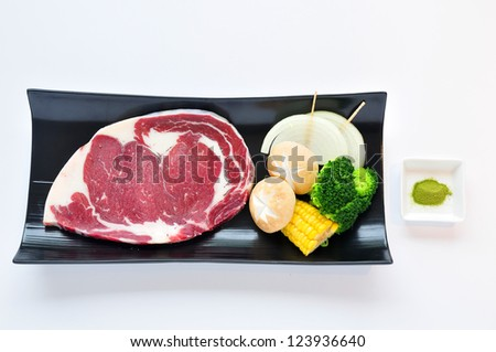 a meat of beef - stock photo