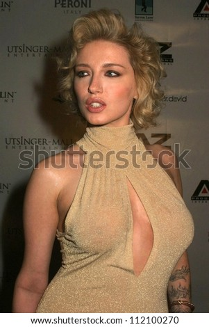A Model at the Fashion Week Wrap Up Party Hosted by Donna D'Errico. Republic, West Hollywood, CA. 03-23-07
