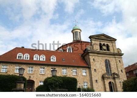 A Monastery in Ohrbeck, Germany