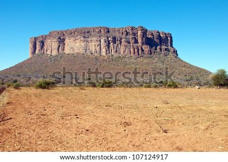 A mountain called Kranskop, Limpopo, South Africa.