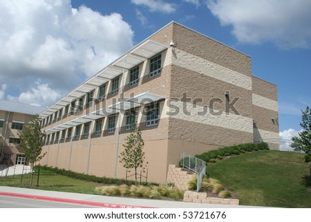 A new building - stock photo