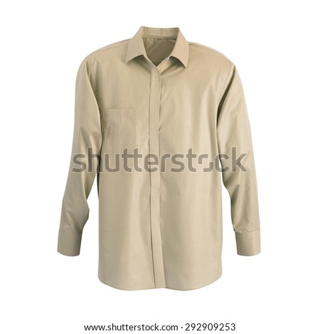 A new grey man's shirt